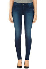 New $198 J BRAND 80011 AVALON DARK BLUE MIDRISE SKINNY LEG STRETCH JEANS 28 811