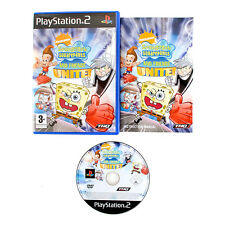 Spongebob Squarepants And Friends Unite For Sony PlayStation 2 PS2 Complete PAL