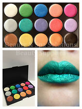 NEW 15 COLOUR SHIMMER LUMINESCENT STRONG PIGMENT CREAM EYESHADOW PALETTE