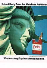 PUBLICITE  1971   WINSTON   cigarettes