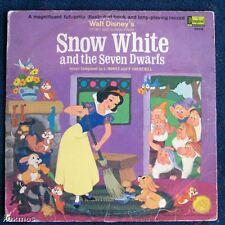 Disneyland record book 1969 Snow White Seven Dwarfs htf