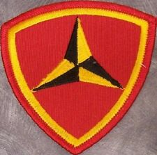 Embroidered Military Patch USMC 3rd Marine Division NEW