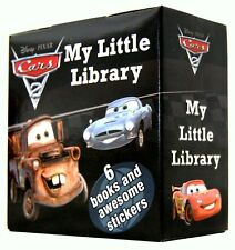 Disney Pixar Cars 2 Pocket Library 6 Board Books Set