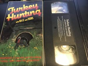 Turkey Hunting with Ben Lee and Friends 1989 rare wild turkey VHS