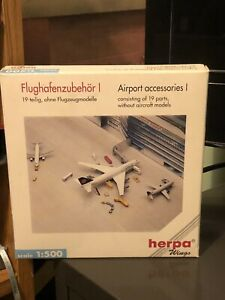 herpa 1:500 airport accessories Pack