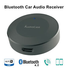 High Fidelity Car Audio Receiver Bluetooth4.2 Apt-X Music Adapter 3.5mm Aux 1to2