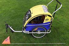 Burley D'lite Bike Trailer With Jogger/stroller Attachment