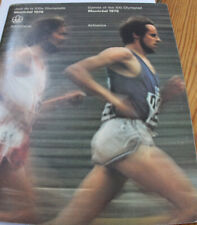old magazine/programme olympic games in Montreal 1976 Athletics