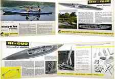 Canoë-Kayak pliable 2-3 places, modèle Bi-Duo Stalibilair, Jean Chauveau