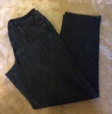 Coldwater Creek Size 12 Womens Denim Blue Jean Pants