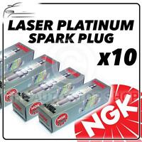 10x NGK SPARK PLUGS Part Number PZFR6H Stock No. 7696 New Platinum SPARKPLUGS