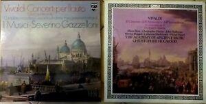 Satz 2 Box Vinyl 33t Vivaldi Concerti Per Flauto - Er Cimento Dell'Armonia