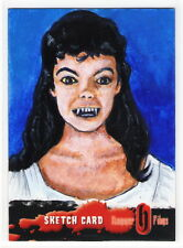 Hammer Horror Mike Gee Painted Sketch Card Andree Melly Gina Brides of Dracula