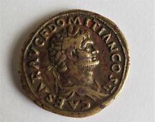 More details for caesar domitian felicita publica roman s c bronze coin 28mm diameter approx