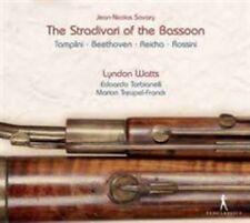 The Stradivari of the Bassoon, New Music