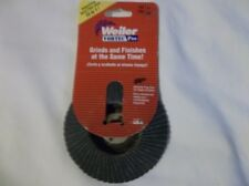NEW Weiler Vortec Pro Abrasive Flap Disc For Angle Grinders