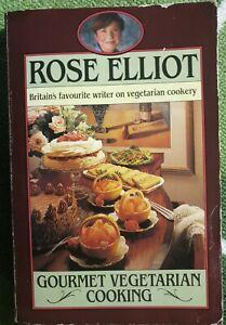 Gourmet Vegetarian Cooking By Rose Elliot Paperback 1988