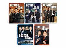 Boston Legal Complete Series ~ Season 1-5 (1 2 3 4 5) ~ BRAND NEW DVD SETS
