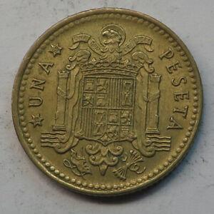 Spain Peseta 1966 (69) Aluminum-Bronze KM#796