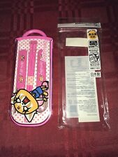 AGGRETSUKO KIDS TRIPLE CUTLERY SET SPOON/FORK/CHOPSTICK WITH CASE