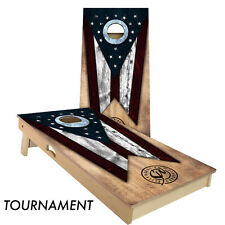 Slick Woody's Ohio State Flag Cornhole Board Game Set - Made in the USA!