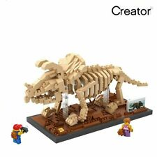 Dinosaur Triceratops - 3D Skeleton model Nano Blocks Puzzle