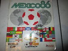 Panini WM 86 Sammelalbum WC 1986 KOMPLETT Album mit allen Sticker Stickeralbum