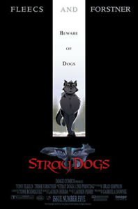 STRAY DOGS #5 2ND PRINT 1:10 THE CROW MOVIE VARIANT 2021 IMAGE Presale 8/4