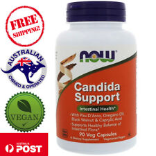 Now Foods Candida Support, 90 Vegan Capsules - Intestinal Health*