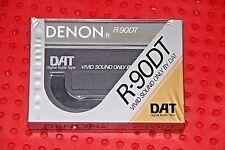 DAT  DENON  R-90DT    VS.  II   DIGITAL AUDIO TAPE (1)  (SEALED)