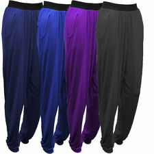 Pantaloni da donna neri ampio