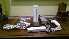 Nintendo Wii White Console (NTSC) + Extras