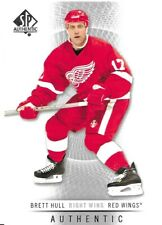 12-13 2012-13 SP Authentic Brett Hull #27-Red Wings