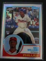 2018 Topps Chrome #83T-20 Nick Williams 1983 35TH Anniversary RC Baseball Card