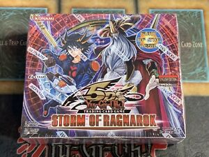 Yugioh Storm of Ragnarok Factory Sealed 1st Edition Booster Box! Brand New!
