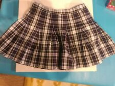 """Dennis Marymount Plaid Uniform Skirt. Waist is 31.5"""" Can be let out."""