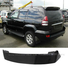 For Toyota Land Cruiser Prado FJ120 2003-2009 Black paint Spoiler Wing With LED