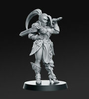SKYLA FEMALE WARRIOR SCALE 32mm MORDHEIM ZOMBICIDE DnD ROL WARHAMMER