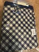 NEW LONGABERGER BLUE RIBBON CRAFTING FABRIC LINER FOR  BASKET IN PLAID
