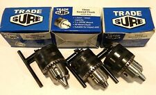 "TRADE SURE -  1/2"" 13mm IMPACT DRILL CHUCK with KEY X 3"
