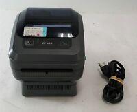 Zebra ZP 450 CTP UPS Thermal Label Printer Serial USB Parallel ZP450-0501-0000A