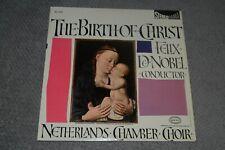 The Birth Of Christ~Netherlands Chamber Choir~Felix De Nobel~FAST SHIPPING