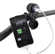V PARTS Cargador tipo mechero encendedor USB 12V para móviles coche moto barco