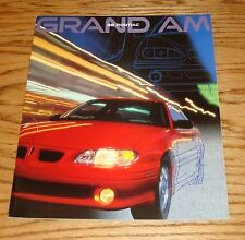 Original 1998 Pontiac Grand Am Sales Brochure 98