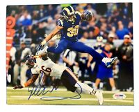 TODD GURLEY Original Signed Autograph 8X10 LOS ANGELES RAMS NFL Photo PSA/DNA 04