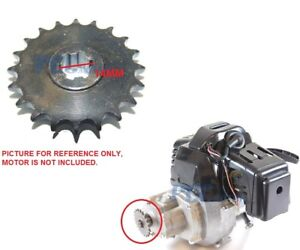 2 STROKE 49CC ENGINE Mini Pocket Bike Front Sprocket 20T T8F 20 TOOTH 8mm I ES55