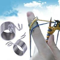 Stainless Steel Straight Circular Knitting Needles Crochet Hook Weave Tools New