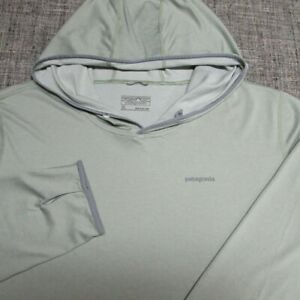 PATAGONIA LIGHTWEIGHT POLY SPANDEX HOODED LONG SLEEVE SHIRT--XL--EXCEPTIONAL