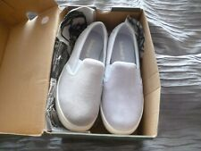 Ladies Timberland Dausette Slip on Light Blue Suede shoe 4.5 uk.New with defects