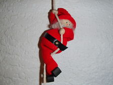 Scandinavian Swedish Tomte Gnome Rope Climber Christmas Ornament #11-602